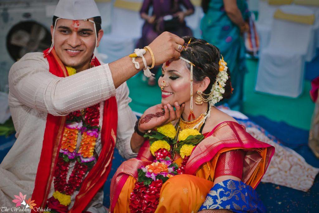 Shraddha Sumit Marathi Wedding The Wedding Shades Blog